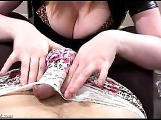 Mistress Femdom Handjob Tease and Denial